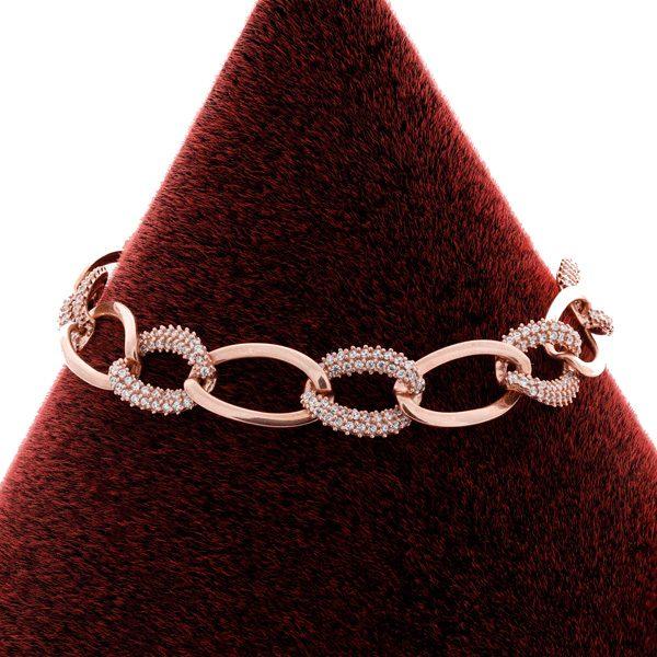دستبند زنانه کارتیر، نقره روکش آبکاری طلا